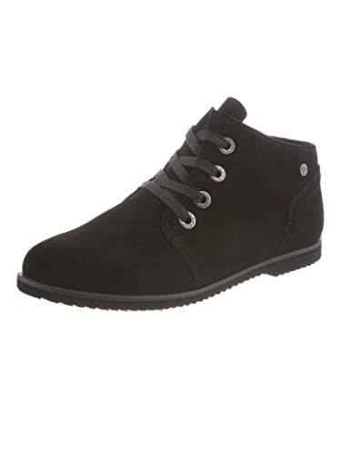 Women's Clariesse Suede Canvas Rubber Stain Resistant Desert Booties