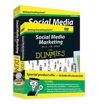 Download Social Media Marketing All-in-One For Dummies Book + DVD Bundle (For Dummies (Computers)) (Mixed media product) - Common ebook
