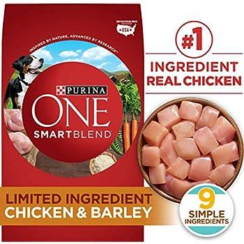 Purina ONE Limited Ingredient, Natural Dry Dog Food, SmartBlend Limited Ingredient Chicken & Barley Formula - 24 lb. Bag