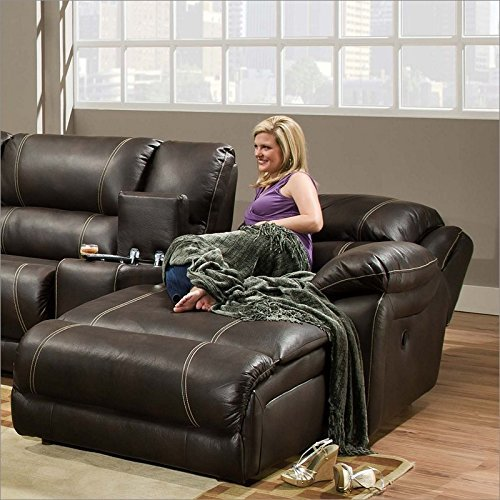 Amazon.com Simmons Upholstery 50660 Blackjack Bonded Leather RAF Reclining Cuddler Chaise Kitchen u0026 Dining & Amazon.com: Simmons Upholstery 50660 Blackjack Bonded Leather RAF ... islam-shia.org