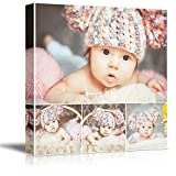 picture frame collage ideas NWT Custom Canvas Prints with Your Photos Collage Idea, Personalized Canvas Pictures for Wall to Print Framed 24x24 inches