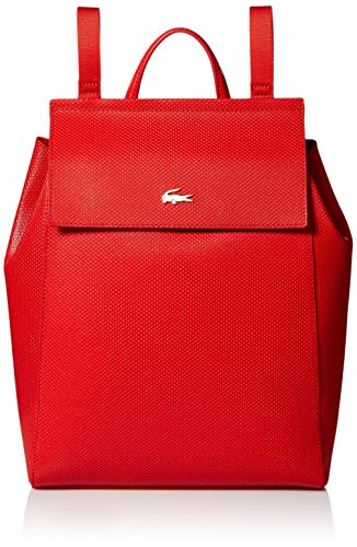 Lacoste Chantaco Backpack, High Risk Red