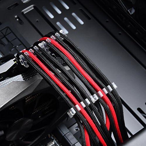 Silverstone Sst Pp09 Kabelkammset Für Ummantelte Computer Zubehör