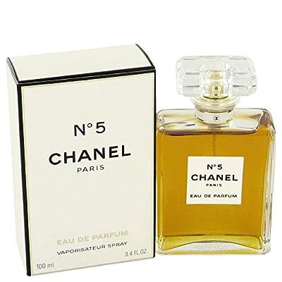 Women Perfume CHANEL_No 5 Eau De Parfum Spray 3.4 FL OZ