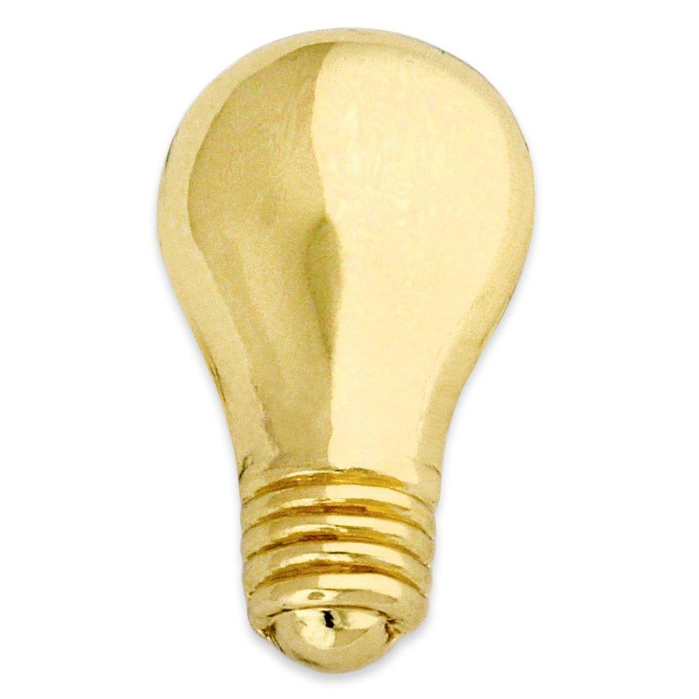 PinMart's Gold Light Bulb Lapel Pin