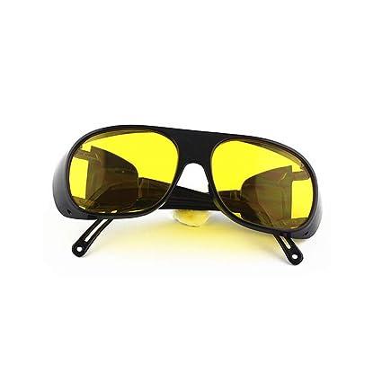 QPX Gafas de Soldador Gafas a Prueba de Viento Gafas de protección láser (Amarillo)