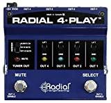4 channel direct box - Radial 4-Play 4-channel Output, Instrument Direct Box