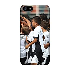 Mycase88 XCj152FIUT Cases Covers Iphone 5/5s Protective Cases The Best Player Of Corinthians Alexandre Pato And Children