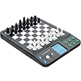 Electronics Kids Best Deals - Talking Chess & Game Computer. Electronic Chess and Checkers Set with 8-In-1 Board Games, For Kids To Learn and Play. Chess-Checkers-Reversi-Halma-4 In A Row-Fox & Geese-Northcote's Game & Nim