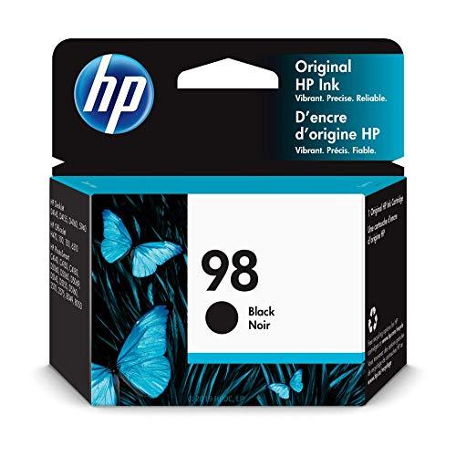 HP 98 Black Ink Cartridge (C9364WN) for HP Deskjet 6940 6988 HP Officejet 100 150 H470 HP Photosmart 2575 C4150 C4180 8049 8050 (In 6310xi Officejet All One Hp)