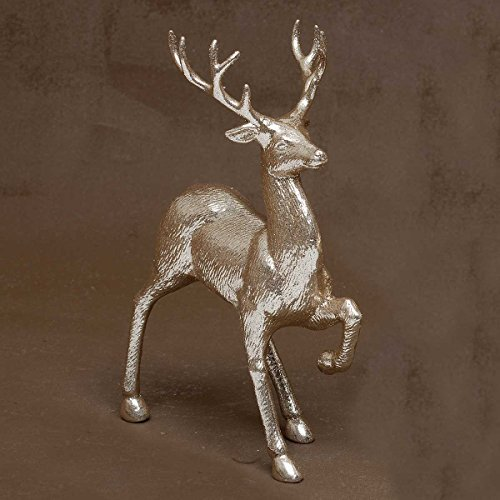 Prancing Deer (CHAMPAGNE PRANCING DEER WITH SPARKLE 9