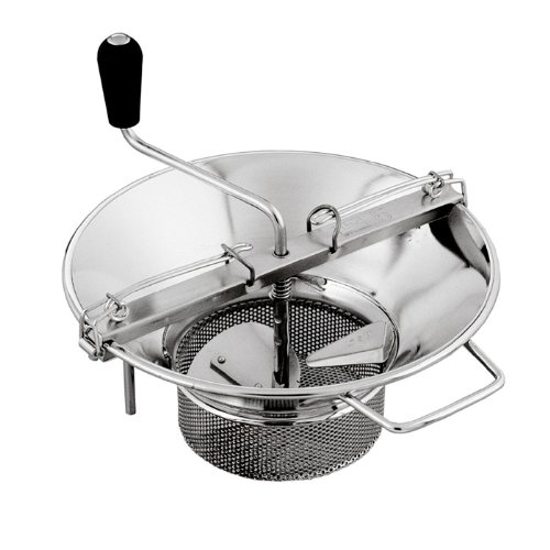 Mouli Food Mill (Tomato Strainer / Crusher) # X5, S/S, 8 Qt. Capacity by L. Tellier (Image #1)