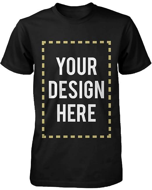Camiseta Personalizada con Estampado de 365 Camisas, Diseño de Tu Propia Camiseta de Manga Corta: Amazon.es: Ropa y accesorios