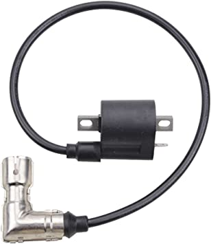 GOOFIT 90 Degree Ignition Coil Elbow with Shield for ATV Go Kart Dirt Bike