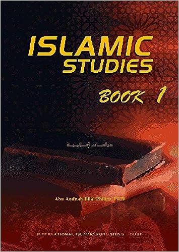 Islamic Studies: Book 1: Amazon co uk: Dr  Abu Ameenah Bilal
