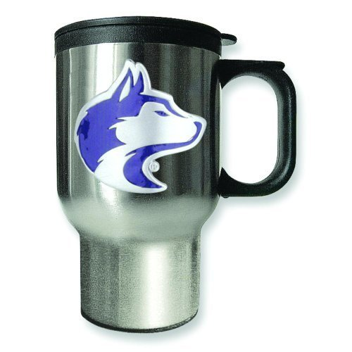 University of Washington Stainless Steel Travel Mug 16oz by Goldia by Goldia