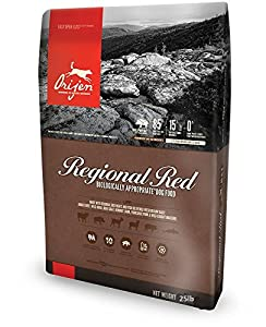 Orijen Regional Red Dog Food, 25-Pound Bag