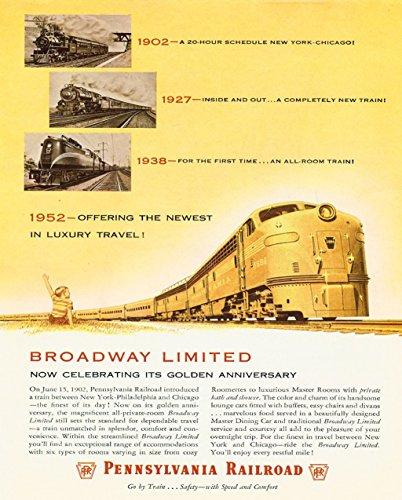 Pennsylvania Railroad Broadway Limited 8