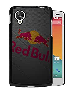Unique Custom Designed Cover Case For Google Nexus 5 With New York Red Bulls Black Phone Case 5
