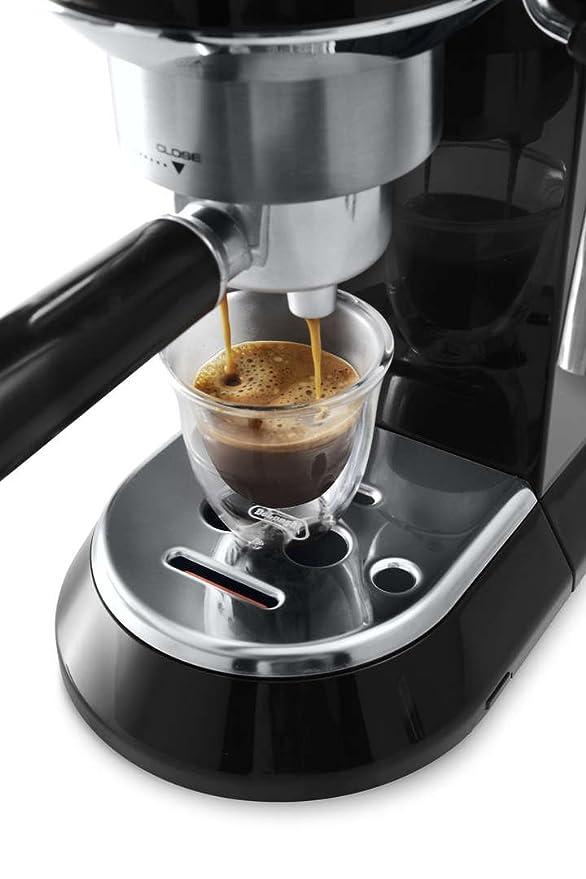 Amazon.com: De Longhi Dedica máquina de café ec680. BK ...
