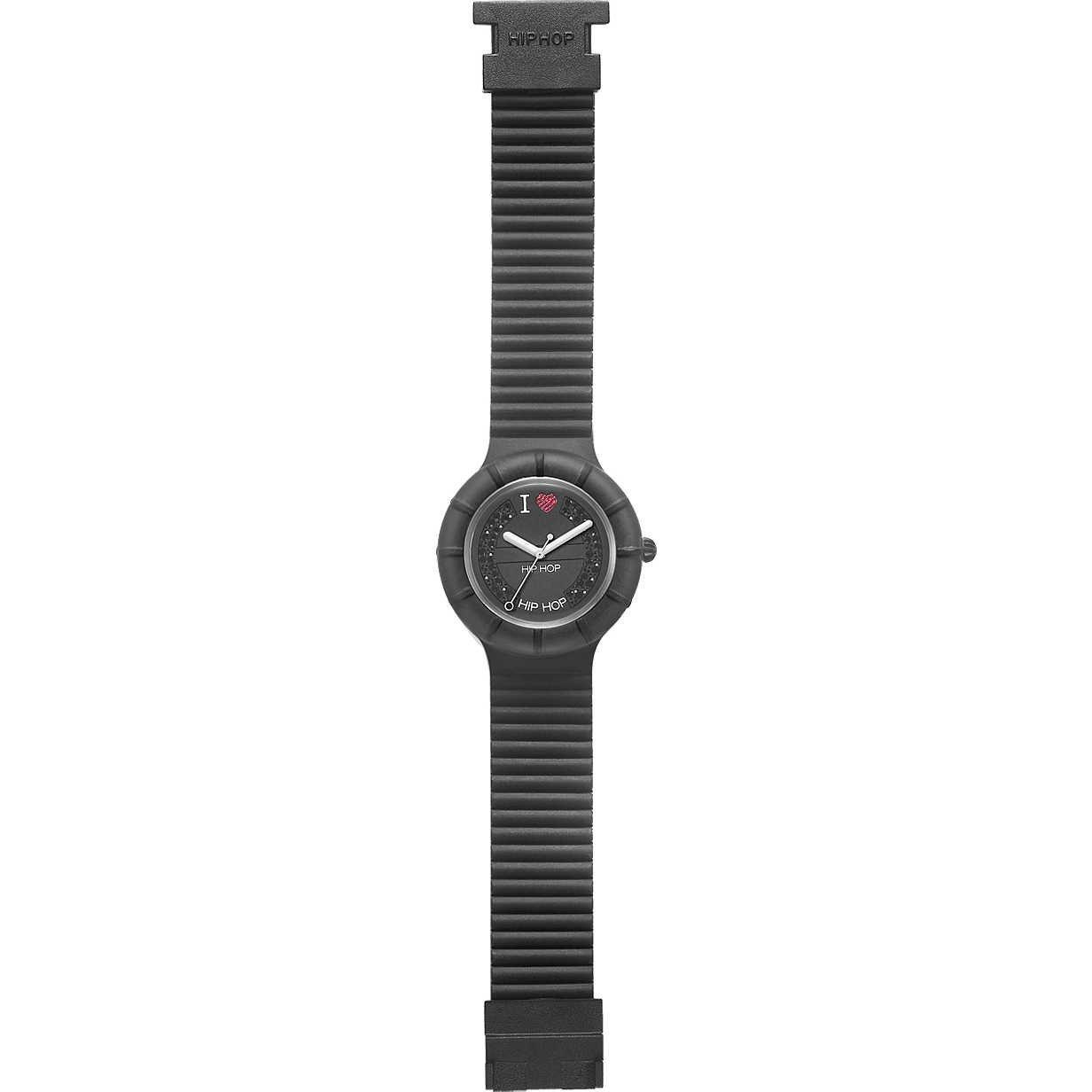 Amazon.com: ORIGINAL BREIL HIP HOP WATCH 35MM CRYSTALS BLACK HWU0082: Watches