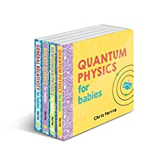 The perfect gift for your future genius!              Written by an expert, the Baby University series features colorful, simple introductions to scientific principles and are beloved by babies―and grownups!       Included in ...
