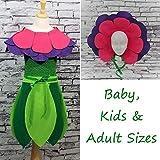 Petunia Flower Costume Set (Pink/Purple) - Baby/Toddler/Kids Sizes