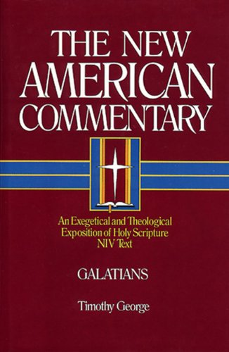 Galatians An Exegetical And Theological Exposition Of Holy Scripture The New American Commentary Buy Online In Aruba At Aruba Desertcart Com Productid 24051926