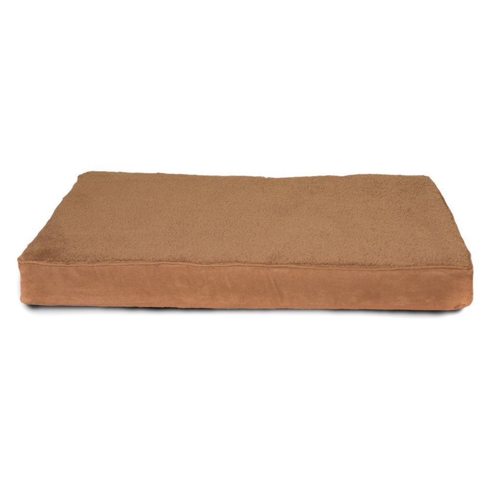 Camel Small Camel Small Furhaven Pet Small Camel Terry & Suede Memory Foam Pet Bed Mat