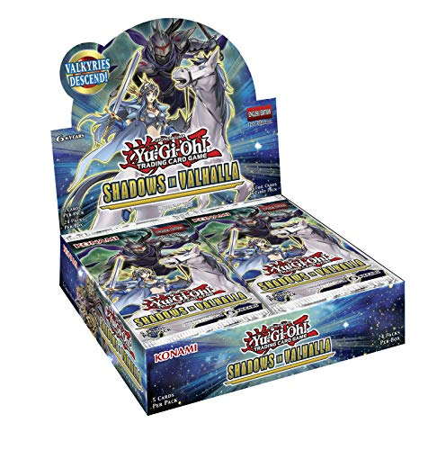 Yu-Gi-Oh KONSIVBD Shadows in Valhalla Card Game Booster Display Box