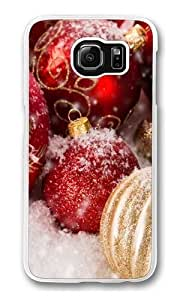 Christmas ornaments Polycarbonate Hard Case Cover for Samsung S6/Samsung Galaxy S6 Transparent wangjiang maoyi