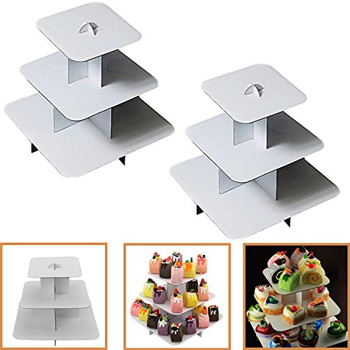 paper cupcake stand - 2