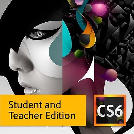 Adobe CS6 Design Standard Student and Teacher Edition for Mac [Download]