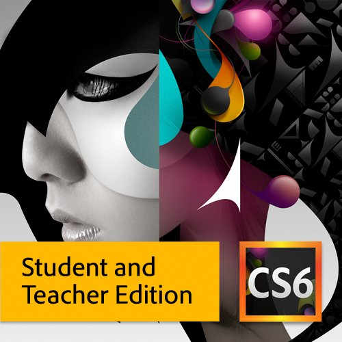 Adobe CS6 Design Standard Student and Teacher Edition [Download] [Old Version]