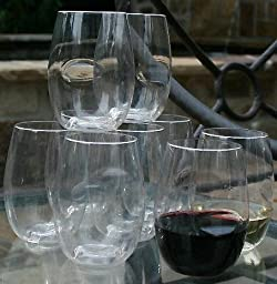Govino Shatterproof Stemless Wine Glasses - 8 Pack