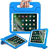 eTopxizu Tablet Case for New iPad 9.7 Inch 2018/2017 - ShockProof Case Light Weight Kids Case Cover with Handle Stand Case for iPad 9.7 Inch 2018 & 2017 New Model/iPad Air/iPad Air 2, Blue