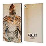 Official Star Trek Discovery L'Rell Grunge Characters Leather Book Wallet Case Cover for iPad 9.7 2017 iPad 9.7 2018