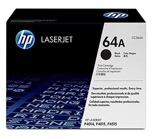 (HP 64A (CC364A) Black Toner Cartridge for HP LaserJet P4014 P4015 P4515)