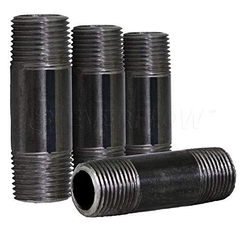 (Everflow Supplies NPBL3450-4 Steel Nipple Pipe 3/4