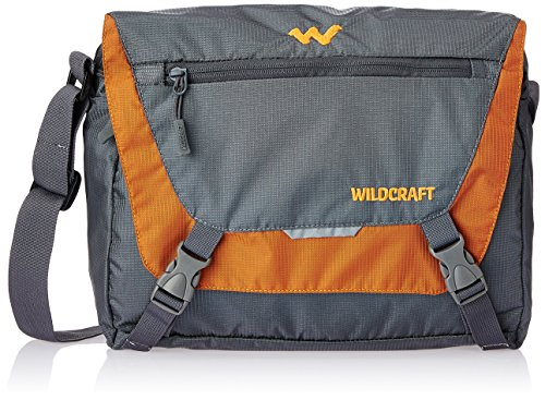 8934a90dd Wildcraft Nylon 15 Ltrs Orange Messenger Bag (8903338055990)  Amazon.in   Bags