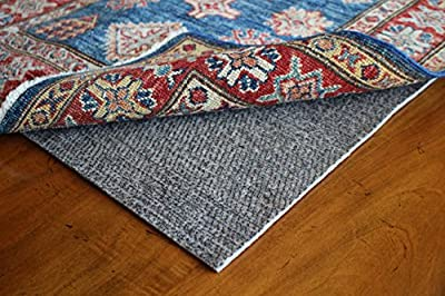 "Contour Lock 1/8"" Rubber & Felt by Rug Pad USA, Quality Low Profile Rug Mat, Locking Non-Skid Rug Pad Grips and Protects- Made in USA- 20 Year Warranty"