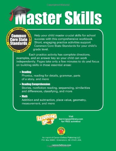 Math & Reading, Grade 2 (Master Skills): Brighter Child ...