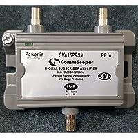2 Port Cable TV/HDTV/Digital 15db Amplifier Model SVA15PRSM Commscope