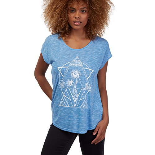 Volcom Got Your Back Top Azul – Camiseta azul eléctrico