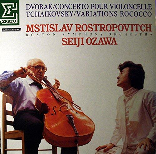 Price comparison product image Dvorak: Cello Concerto; Tchaikovsky,  Rococo Variations