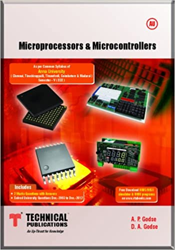 Microprocessor And Microcontroller Textbook By Bakshi Pdf