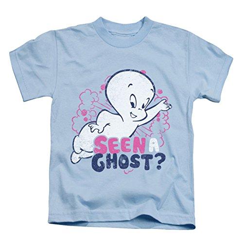 Casper/Seen A Ghost-S/S Juvenile 18/1-Light Blue-Sm(4) -