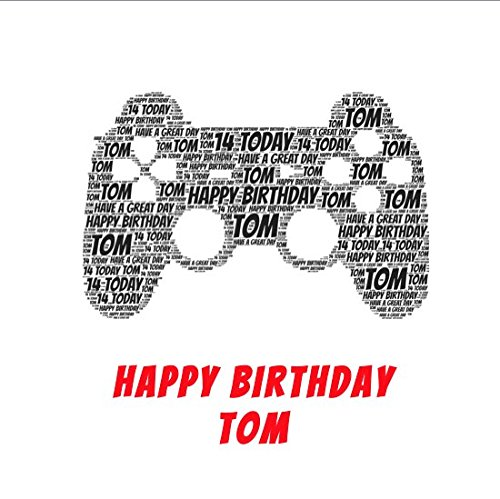 Personalised Games Console Birthday Card,Personalised Birthday Card