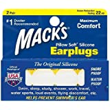 Mack's Pillow Soft Silicone Ear Plugs 2 Pairs (2 Pack)