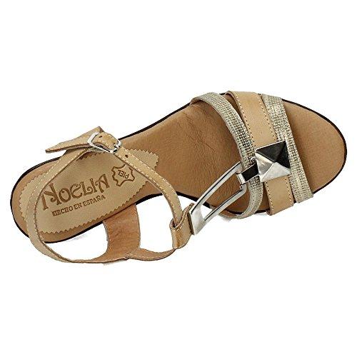 NOELIA sandales Beige femme Beige sandales NOELIA femme rEY1r7qw